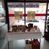"""Mercadillo solidario para recaudar alimentos para la ONG de Cipriano, """"Socorro de los pobres"""""""