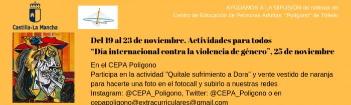 Día internacional contra la violencia de género, 25 de noviembre