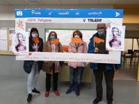Alumnos de Inglés participan en la celebración del Día Internacional de la Eliminación de la Violencia de Género